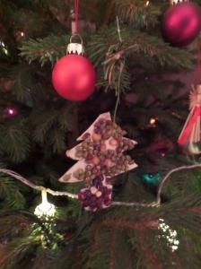 Lentil Christmas tree
